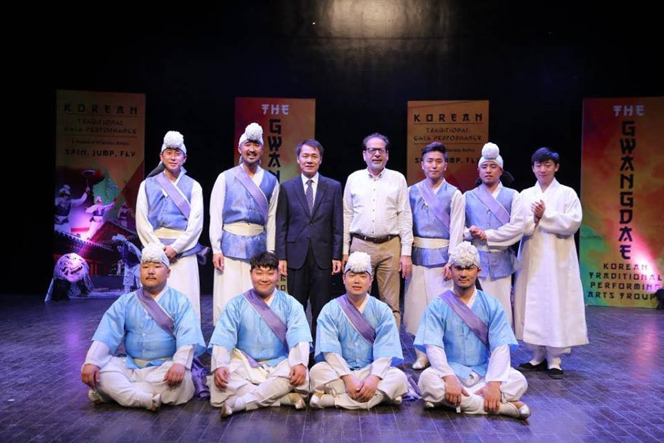 Korean Gwangdae Group Performance At Arts Council Karachi (4)