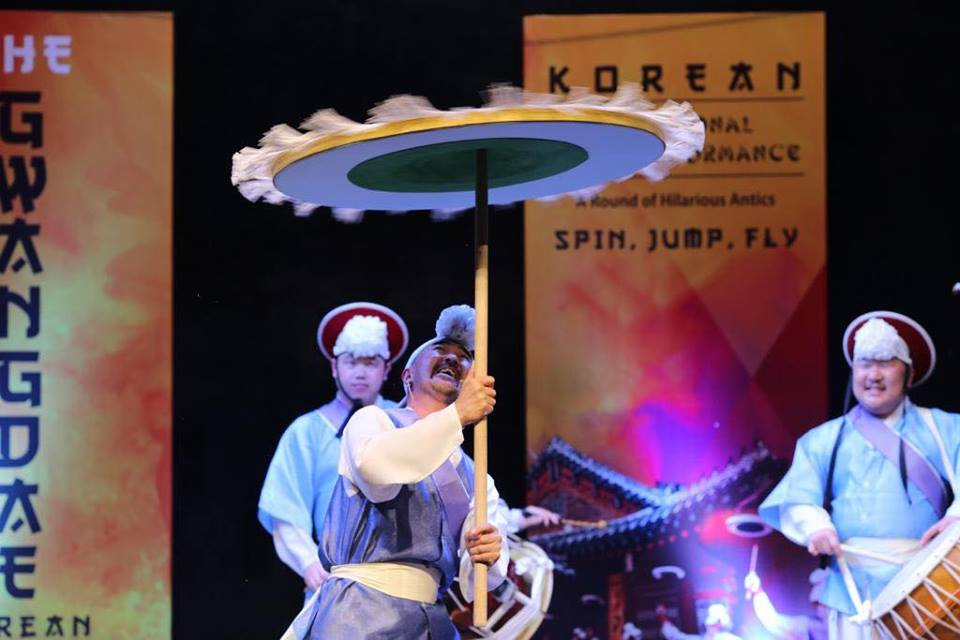 Korean Gwangdae Group Performance At Arts Council Karachi (6)