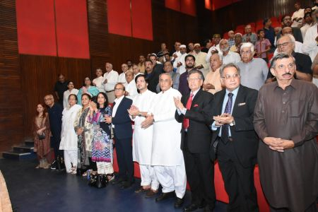 100th Birthday Of Sayid Ghulam Mustafa Shah At Arts Council Karachi (2)