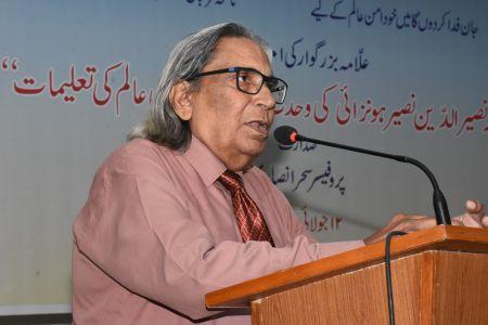 101st Birthday Celebration Of Prof. Dr. Nasiruruddin Nasir Honzai At Arts Council Karachi (35)