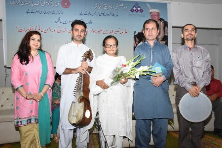 101st Birthday Celebration Of Prof. Dr. Nasiruruddin Nasir Honzai At Arts Council Karachi (39)