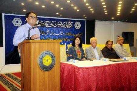 1st April 2014 Raza Ali Abdi K  Saath Shaam -05