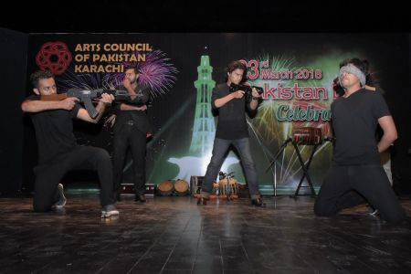 23rd March Celebrations At Arts Council Of Pakistan Karachi (14)
