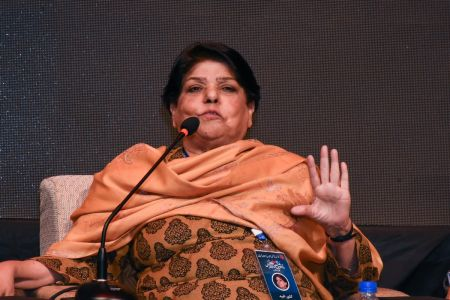 2nd Day, Session Kishwer Naheed Se Mulaqat In 12th Aalmi Urdu Conference 2019 (1)