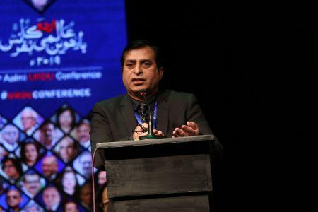 2nd Day, Session Yark Shair Adabi Forum, Taqreeb E Award In 12th Aalmi Urdu Conference 2019 (11)