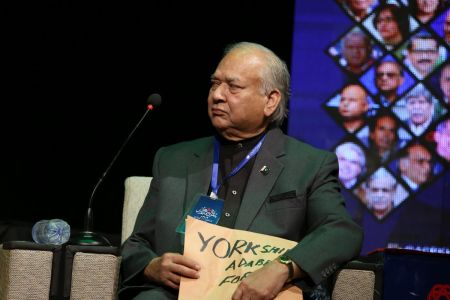 2nd Day, Session Yark Shair Adabi Forum, Taqreeb E Award In 12th Aalmi Urdu Conference 2019 (7)