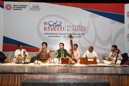9th Tehzeeb Festival & Awards At Arts Council Karachi (11)