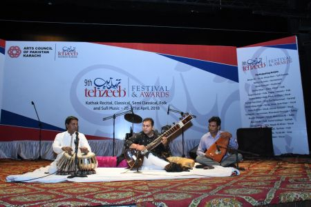 9th Tehzeeb Festival & Awards At Arts Council Karachi(20)