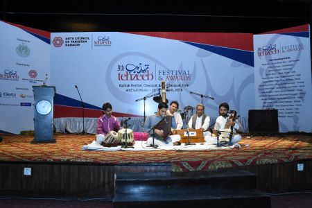 9th Tehzeeb Festival & Awards At Arts Council Karachi(25)