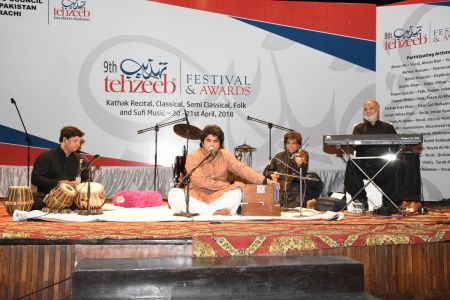 9th Tehzeeb Festival & Awards At Arts Council Karachi(31)