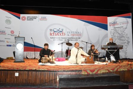 9th Tehzeeb Festival & Awards At Arts Council Karachi(33)