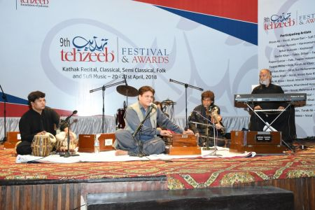 9th Tehzeeb Festival & Awards At Arts Council Karachi(35)