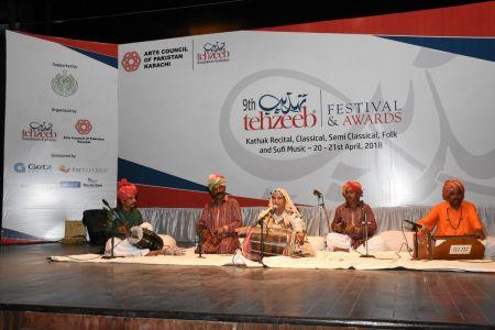 9th Tehzeeb Festival & Awards At Arts Council Karachi (3)