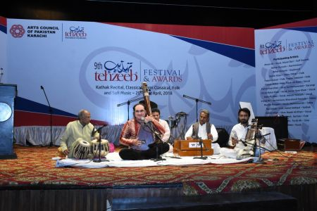 9th Tehzeeb Festival & Awards At Arts Council Karachi(42)