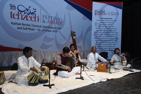 9th Tehzeeb Festival & Awards At Arts Council Karachi (9)