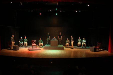 ACTA Student\'s Play The \'COURT MARTIAL\' At Arts Council Karachi-4