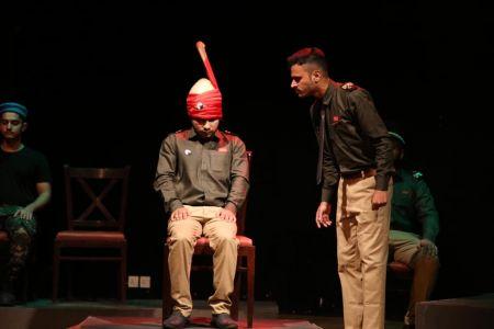 ACTA Student\'s Play The \'COURT MARTIAL\' At Arts Council Karachi-5