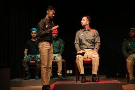 ACTA Student\'s Play The \'COURT MARTIAL\' At Arts Council Karachi-6