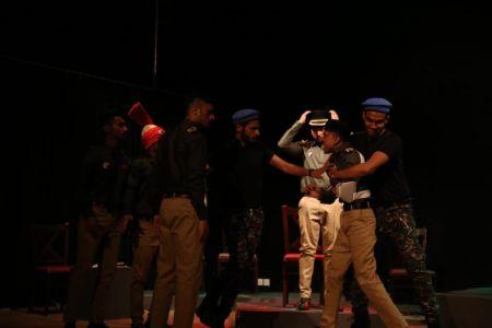 ACTA Student\'s Play The \'COURT MARTIAL\' At Arts Council Karachi-7