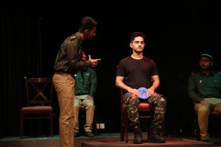 ACTA Student\'s Play The \'COURT MARTIAL\' At Arts Council Karachi-8