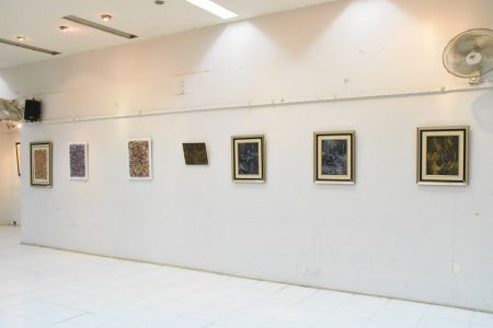 A Palette Knife Painting Exhibition At Ahmed Pervez Art Gallery, Arts Council Karachi (10)