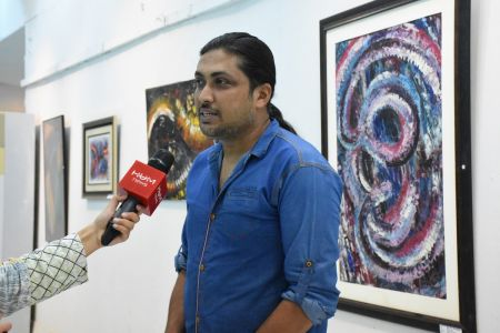 A Palette Knife Painting Exhibition At Ahmed Pervez Art Gallery, Arts Council Karachi (11)