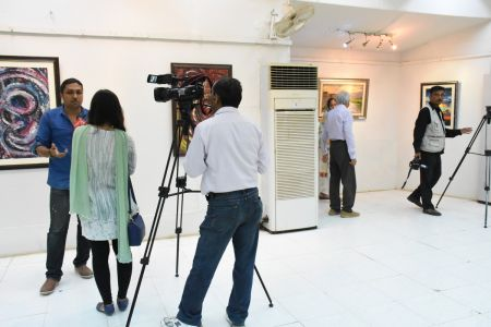 A Palette Knife Painting Exhibition At Ahmed Pervez Art Gallery, Arts Council Karachi (12)