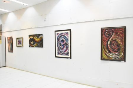 A Palette Knife Painting Exhibition At Ahmed Pervez Art Gallery, Arts Council Karachi (13)