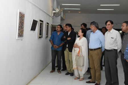 A Palette Knife Painting Exhibition At Ahmed Pervez Art Gallery, Arts Council Karachi (15)