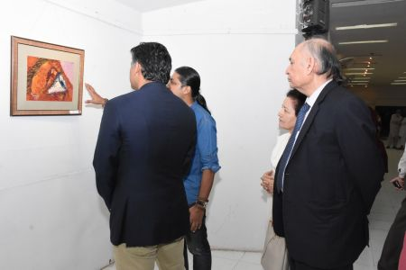A Palette Knife Painting Exhibition At Ahmed Pervez Art Gallery, Arts Council Karachi (17)