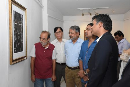 A Palette Knife Painting Exhibition At Ahmed Pervez Art Gallery, Arts Council Karachi (18)