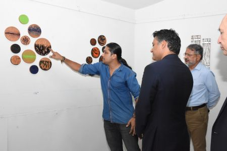 A Palette Knife Painting Exhibition At Ahmed Pervez Art Gallery, Arts Council Karachi (20)