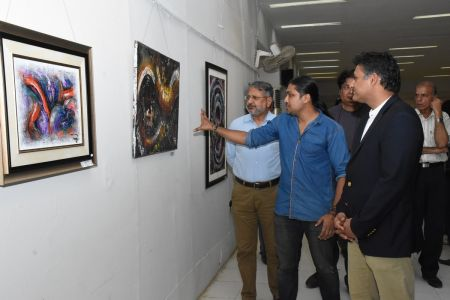 A Palette Knife Painting Exhibition At Ahmed Pervez Art Gallery, Arts Council Karachi (22)