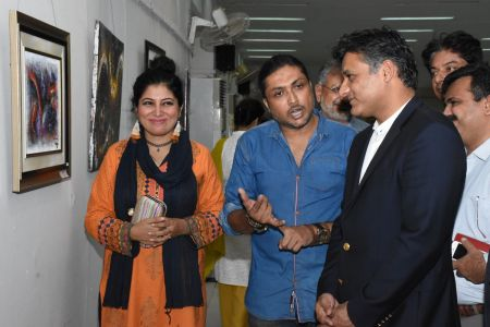 A Palette Knife Painting Exhibition At Ahmed Pervez Art Gallery, Arts Council Karachi (23)