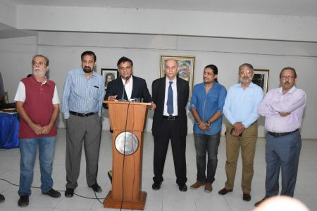 A Palette Knife Painting Exhibition At Ahmed Pervez Art Gallery, Arts Council Karachi (25)
