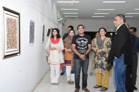 A Palette Knife Painting Exhibition At Ahmed Pervez Art Gallery, Arts Council Karachi (29)