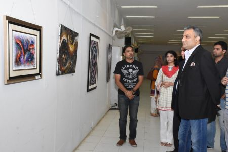 A Palette Knife Painting Exhibition At Ahmed Pervez Art Gallery, Arts Council Karachi (33)