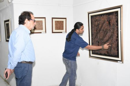 A Palette Knife Painting Exhibition At Ahmed Pervez Art Gallery, Arts Council Karachi (38)