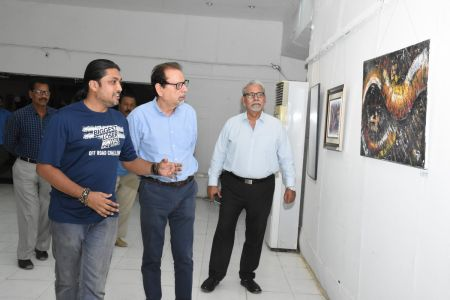 A Palette Knife Painting Exhibition At Ahmed Pervez Art Gallery, Arts Council Karachi (39)