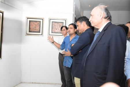 A Palette Knife Painting Exhibition At Ahmed Pervez Art Gallery, Arts Council Karachi (3)