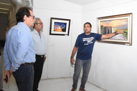 A Palette Knife Painting Exhibition At Ahmed Pervez Art Gallery, Arts Council Karachi (40)