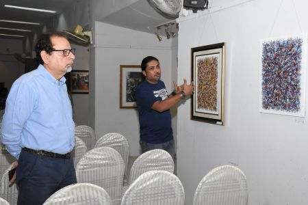 A Palette Knife Painting Exhibition At Ahmed Pervez Art Gallery, Arts Council Karachi (41)
