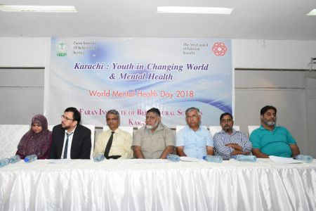 A Seminar On World Mental Health Day At Arts Council Karachi(1)