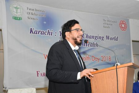 A Seminar On World Mental Health Day At Arts Council Karachi(5)