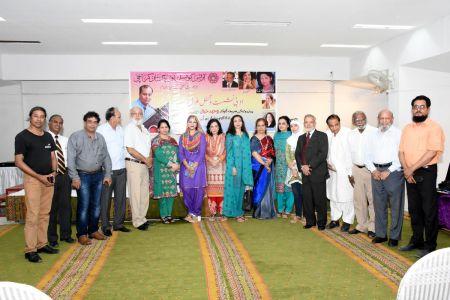 Adabi Nashist Arrainged By Adabi Committee Arts Council Karachi (1)