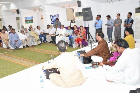 Adabi Nashist Arrainged By Adabi Committee Arts Council Karachi (32)