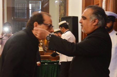 Ahmad Shah President Arts Council Received Sitara-e-Imtiaz