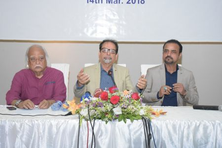 Ahmed Shah, Anwar Maqsood & Shahid Rassam Hold The Press Conference About ACIAC Scholarship Program For Talented Students (10)