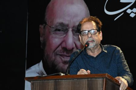 Ahmed Shah Share The Memories Of  Muzafar Ahmed Hashmi During His Condolence Gathering (49)