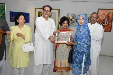 Annual Calligraphy Exhibition 2018 At Ahmed Pervez Art Gallery, Arts Council Karachi (11)